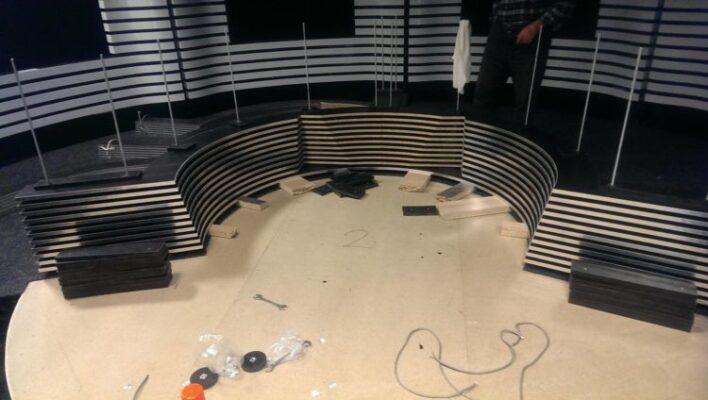 modelare 3D studio TV 6