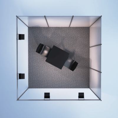 modelare si randare stand expozitional 4