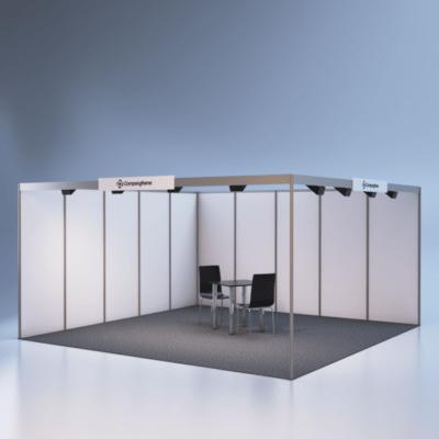 modelare si randare stand expozitional 7