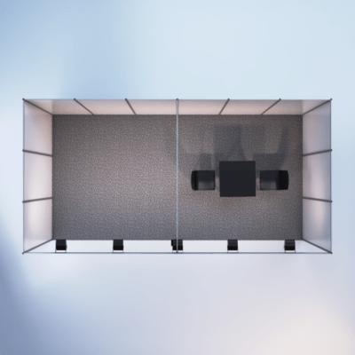 modelare si randare stand expozitional 2