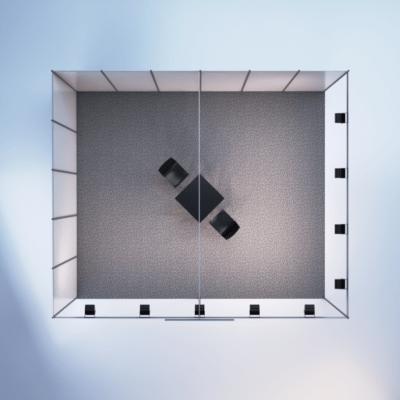 modelare si randare stand expozitional 6