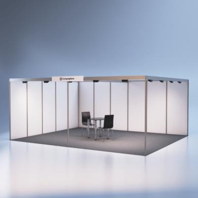 modelare si randare stand expozitional 5