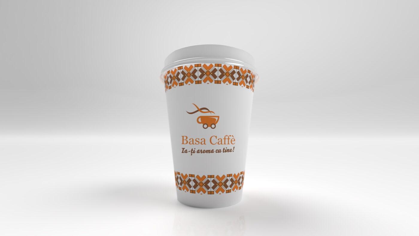 Randare pahar basa caffe